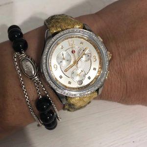 Michele Belmore diamond watch